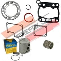Suzuki RM125 1989 54mm Bore Mitaka Top End Rebuild Kit Inc Piston & Gaskets